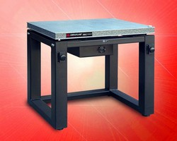 Vibration Isolation Workstation has 650 lb load capacity.