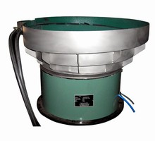 Vibratory Bowl Feeder has electronic voltage controller.
