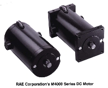 DC Motor offers design flexibility.