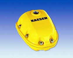Magnetic Drain prevents loss of compressed air.