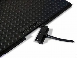Safety Mats feature quick-disconnect cable connector.