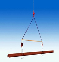 Spreader Beam is designed to be compact and adjustable.