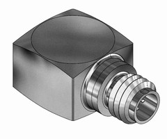Triaxial Accelerometer features single, 5-pin connector.