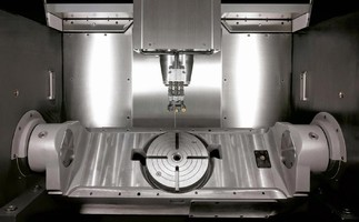 Vertical Machining Center targets moldmakers/subcontractors.