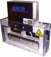 Rotary Guillotine Cutter operates at high-cycle rate.
