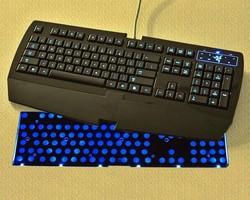 Keyboard Backlight employs side-firing LEDs.