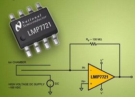 Precision Amplifier offers input bias current of 20 fA.