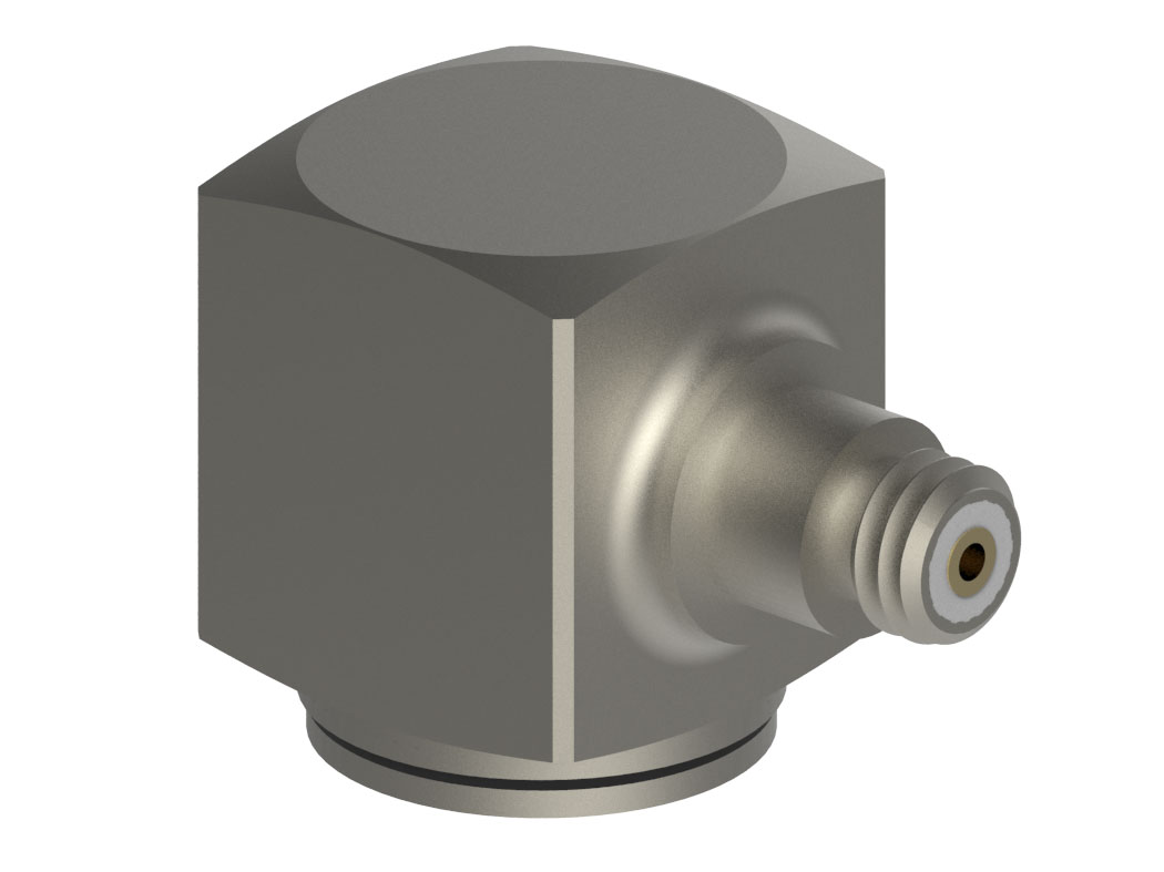 Single Axis Cubic IEPE Accelerometers are ground isolated.