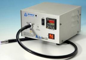UV Spot Curing System generates light using SMT LEDs.