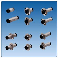 Linear Bushings are self-lubricating.