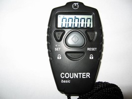 Electronic Hand Tally has 5-digit display.