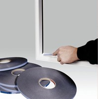 Glazing Tape offers permanent bond for window fabrication.