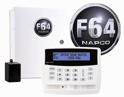 Hybrid Alarm System offers menu-driven touchpad programming.