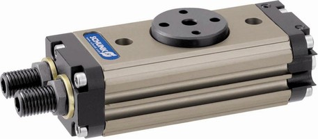 SCHUNK's Pneumatic Rotary Module SRU Is Now Available in Smaller Sizes - 8-14
