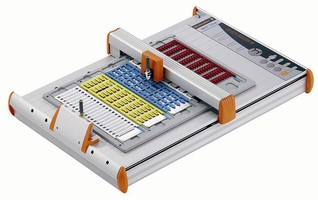 Marking System Plotter has automated pen activation function.