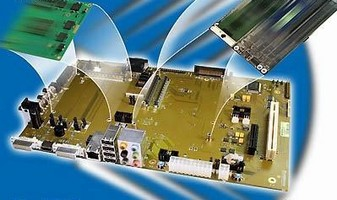 Evaluation Board supports COM Express(TM) and UGM modules.