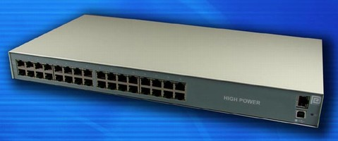 High-Power Midspan is SNMP-capable.
