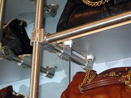 Modular Fitting is designed for retail wall racking systems.