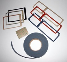 Silicone Gaskets and Pads with High Performance Acrylic Adhesive Backings