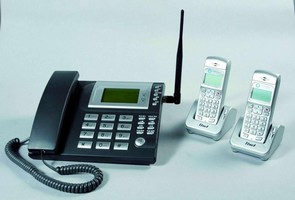 Fixed Wireless Phone supports GSM 850/900/1,800/1,900 MHz.