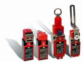 Mechanical Safety Switches come in 10 contact configurations.