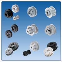 Timing Pulleys feature configurable hub assortment.