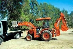 Power Utility Tractor features 59 hp diesel engine.