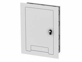Locking Wall Boxes can be flush or surface mounted.