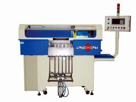 Cut-Off Machine automates cutting of carbide rods.