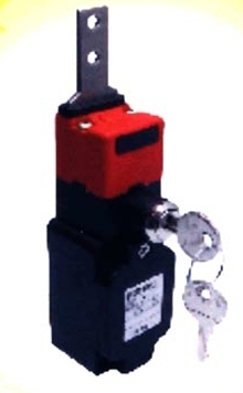 Safety Switches have key-operated lock.