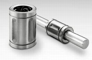 Ball Bushing Bearings feature all steel construction.