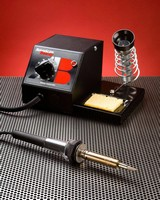 Soldering Stations combine high power and adustability.