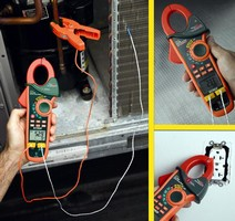 Clamp Meters provide True RMS measurements.