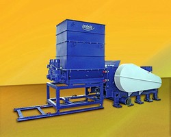 Plastics Recycling Granulators process up to 7 tons/hour.