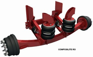 Lift Axle is designed for Class 8 roll-off vehicles.