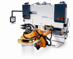 Robotic Bending Cell offers mid-level automation.