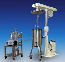 High Speed Disperser is designed for vacuum operation.