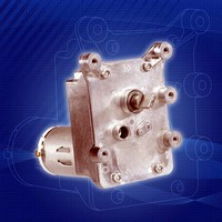 DC Brush Gear Motor provides noise-free operation.