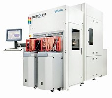 Inspection System handles 200 and 300 mm wafers.