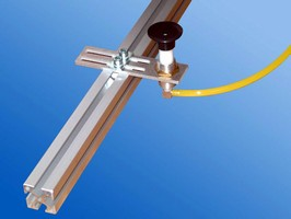Spring Loaded Gripper Arm is intended for vacuum cups.