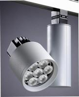 Track Luminaire integrates warm white LED technology.
