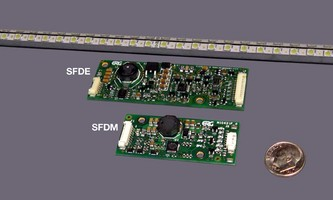 LED Driver Boards suit industrial and medical LCDs.