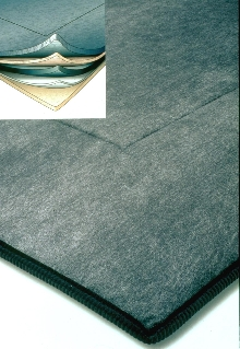 Absorbent Mat has 5-layer design.