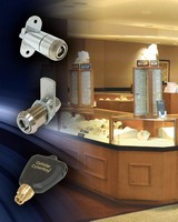 Electronic Lock System suits retail display cases/cabinets.