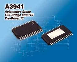 MOSFET Pre-driver suits high temperature automotive systems.