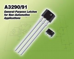 Hall-Effect Latches suit non-automotive applications.