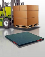 Floor Scales handle severe loading.