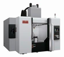 Vertical Machining Center produces large, complex parts.