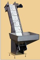 Elevating Conveyor/Prefeeder is suited for bulk applications.