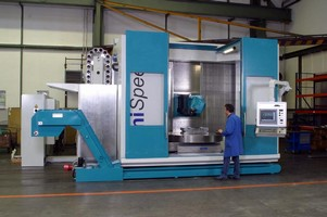 Machining Center offers 5-sided processing.